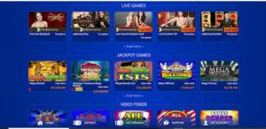 All British Casino Live games